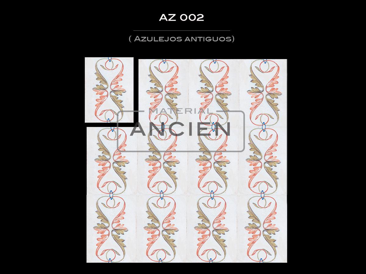 Azulejos Antiguos AZ 002
