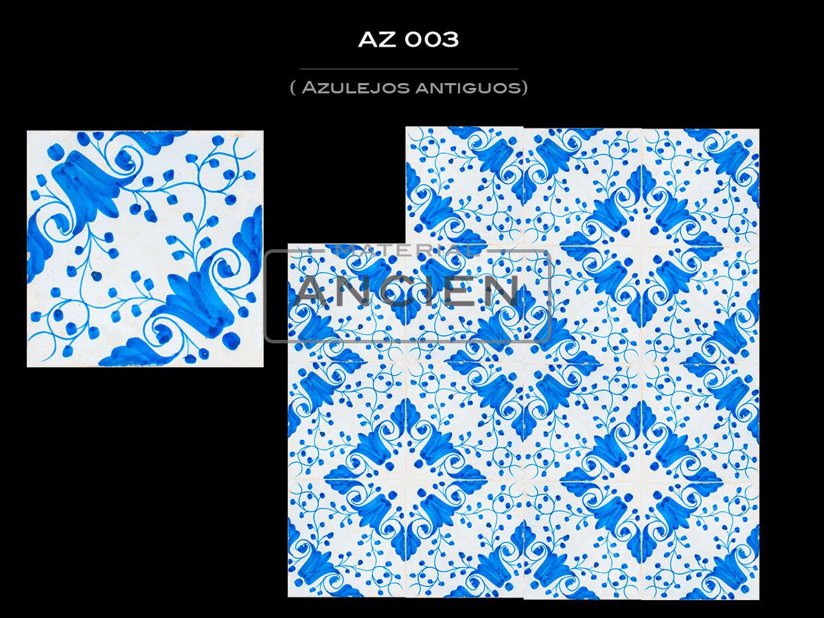 Azulejos Antiguos AZ 003