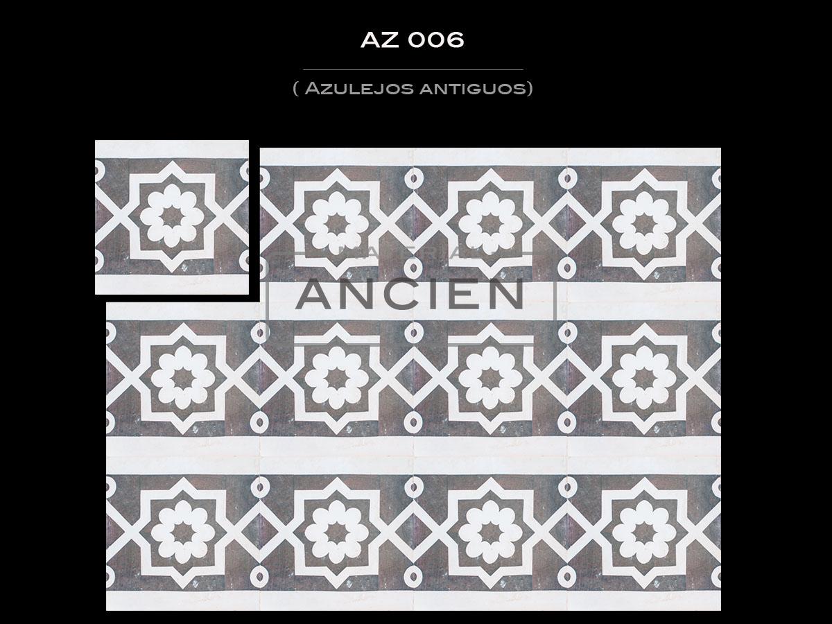 Azulejos Antiguos AZ 006