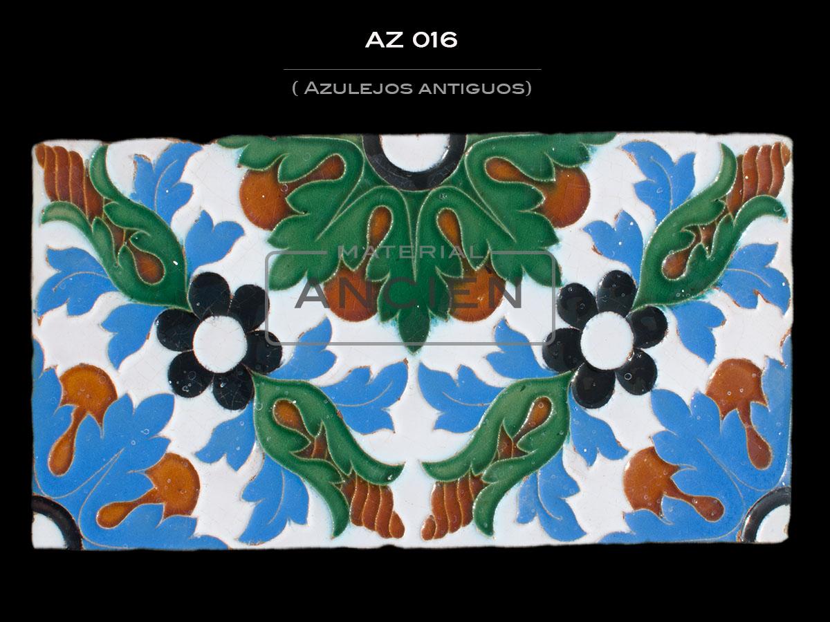 Azulejos Antiguos AZ 016