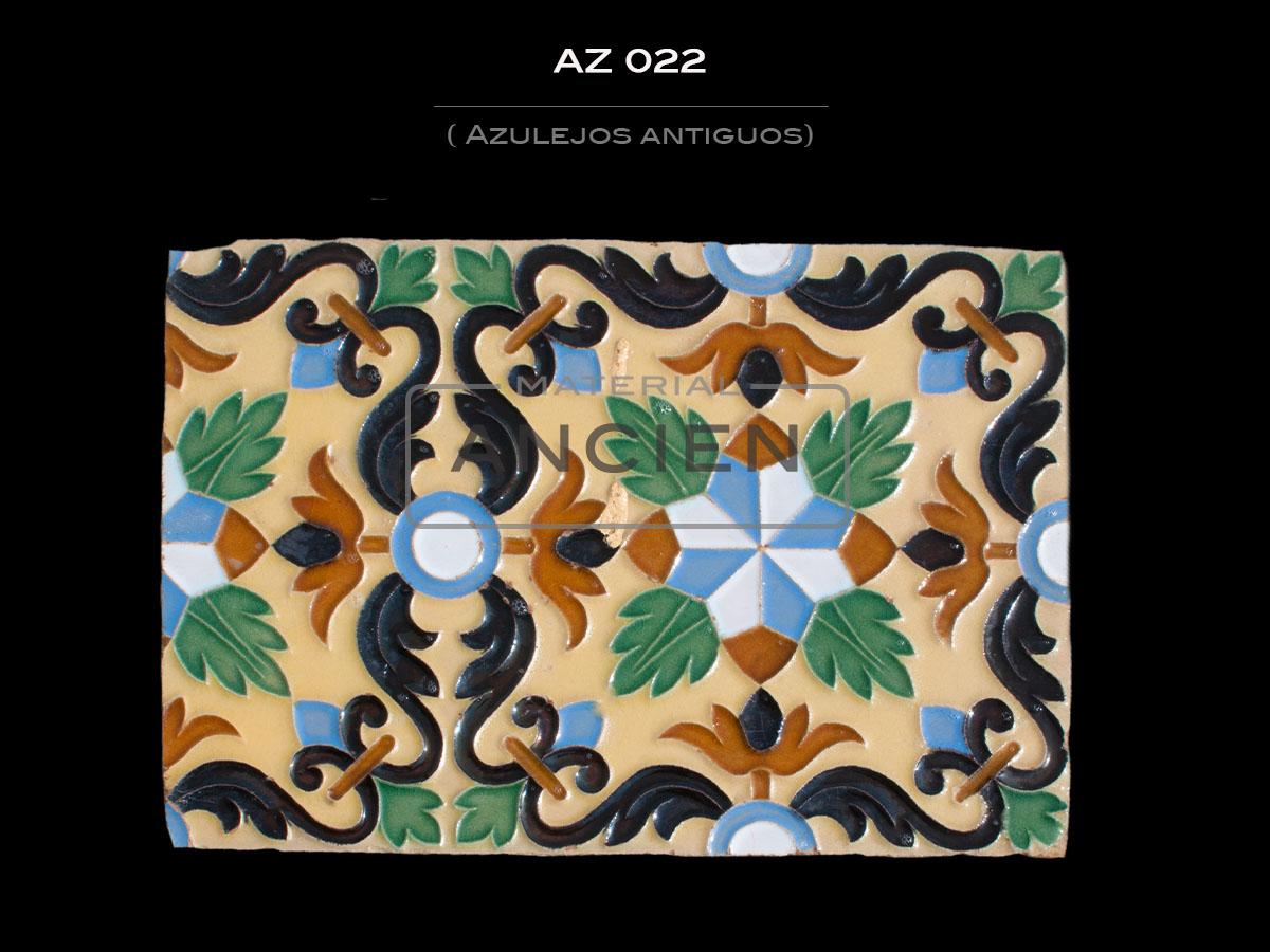 Azulejos Antiguos AZ 022