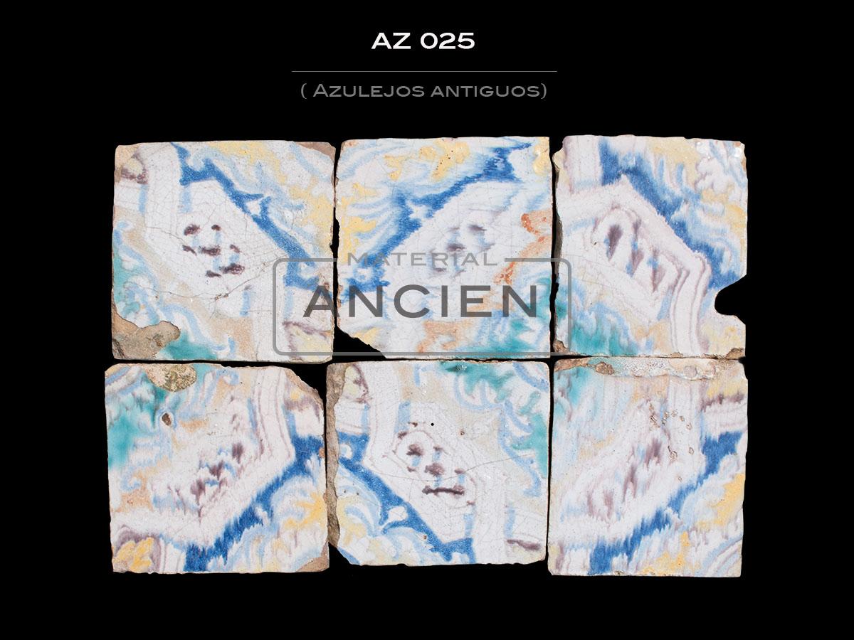 Azulejos Antiguos AZ 025