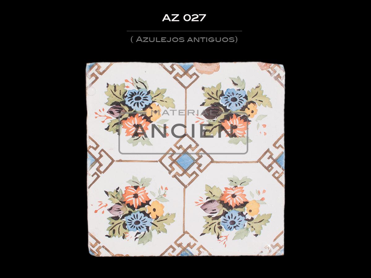 Azulejos Antiguos AZ 027