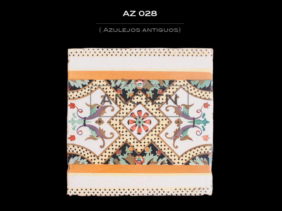 Azulejos Antiguos AZ 028