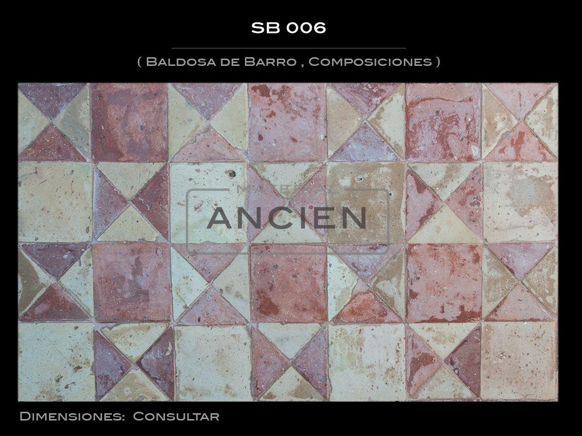 Baldosa de Barro , Composiciones SB 006