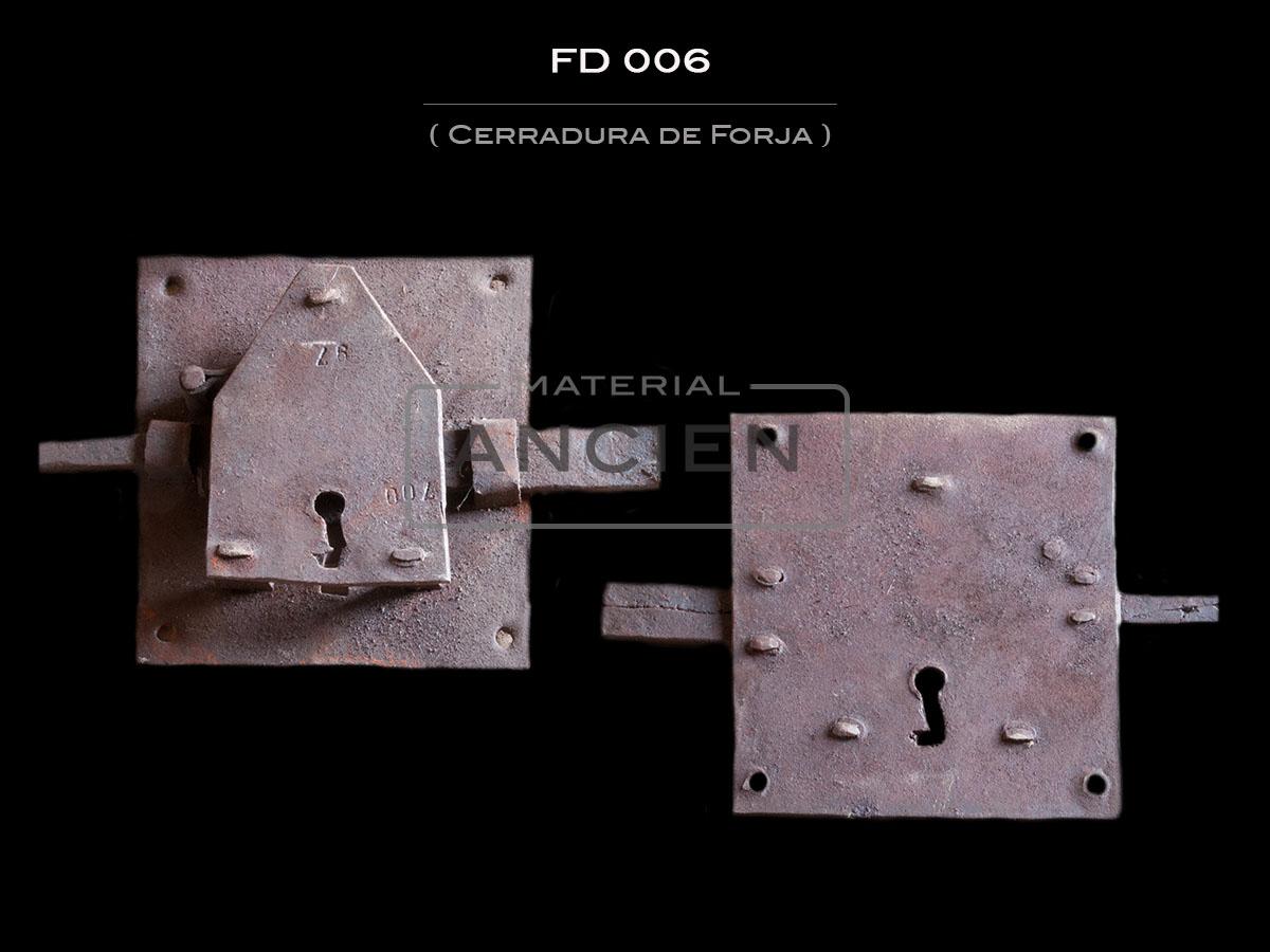 Cerradura de Forja FD 006