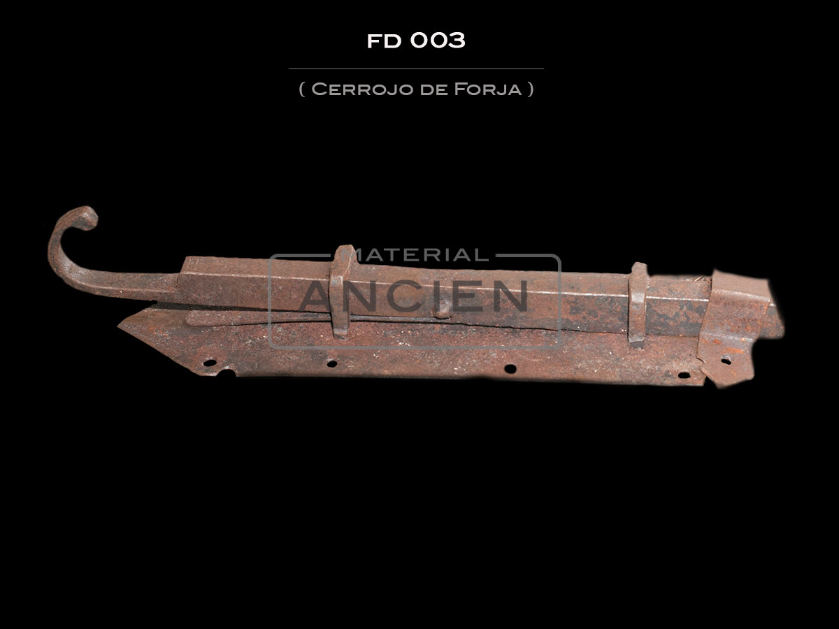 Cerrojo de Forja FD 003