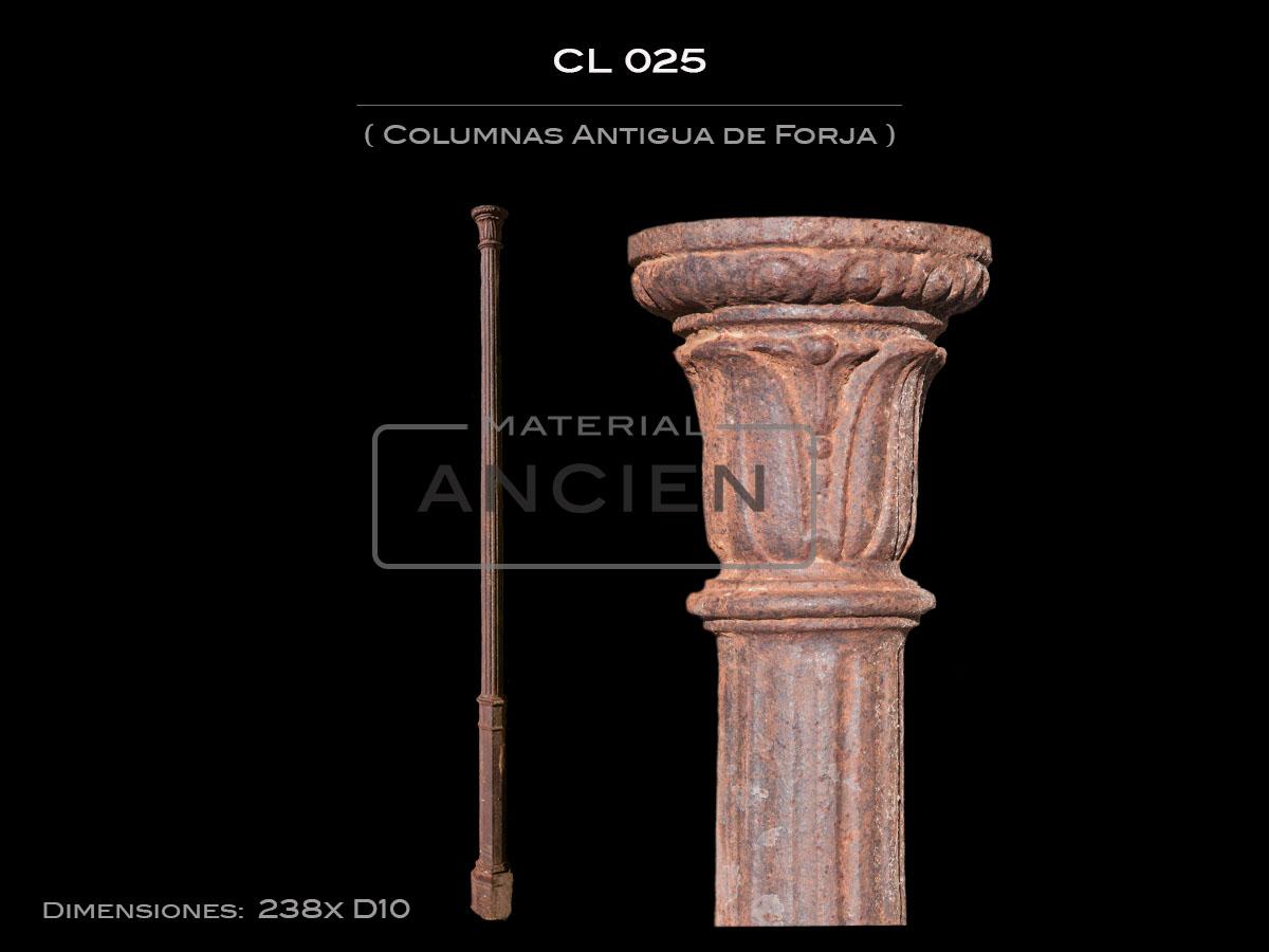Columnas Antigua de Forja CL-025