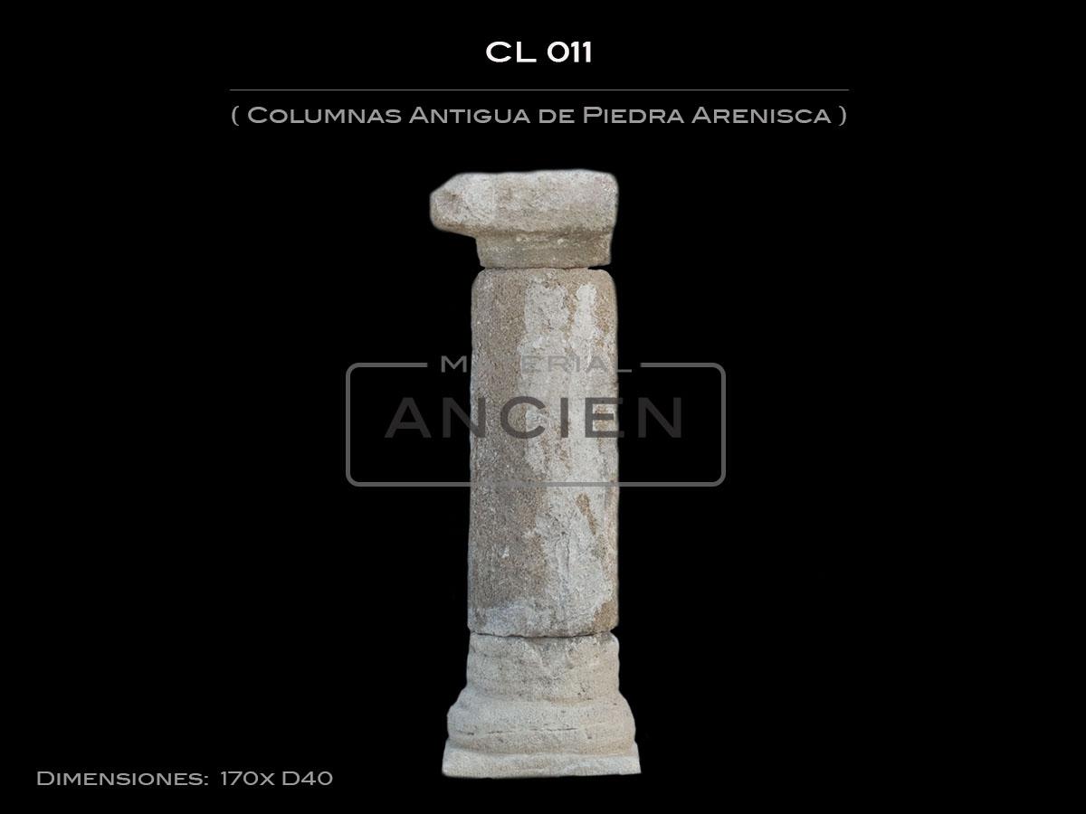 Columnas Antigua de Piedra Arenisca CL-011