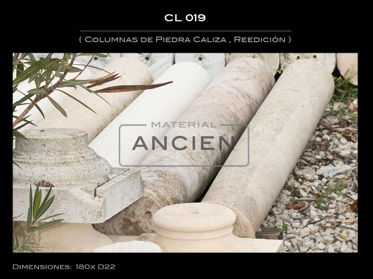 Columnas de Piedra Caliza  CL-019
