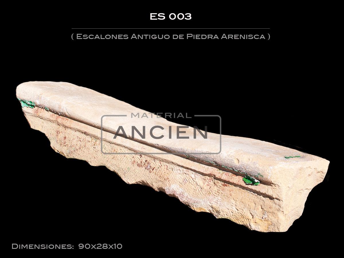 Escalones Antiguo de Piedra Arenisca ES003