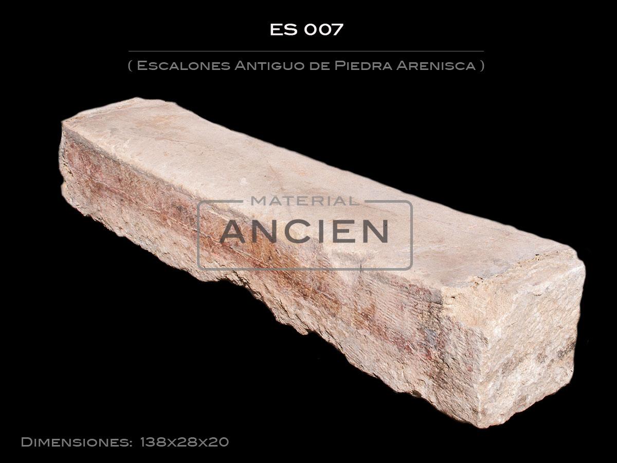 Escalones Antiguo de Piedra Arenisca ES 007
