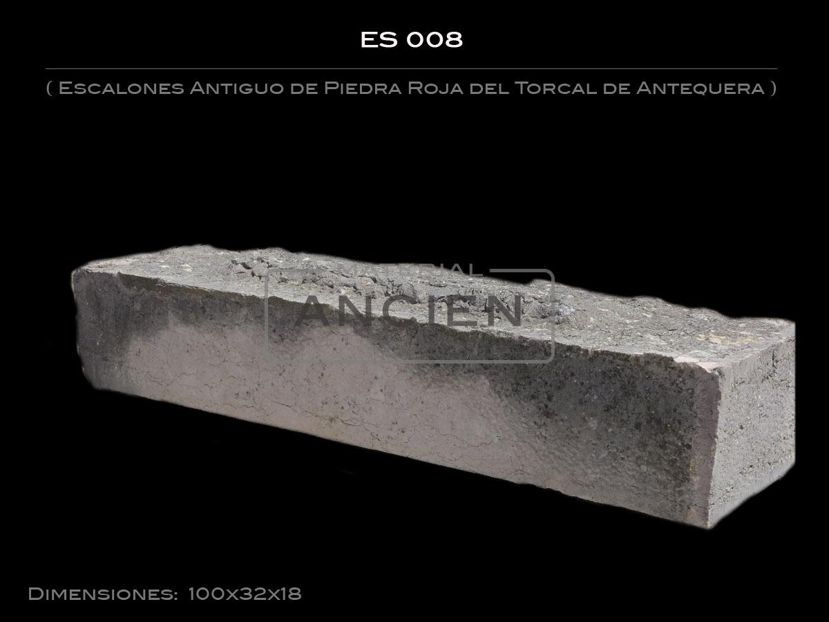 Escalones Antiguo de Piedra Roja del Torcal de Antequera ES 008