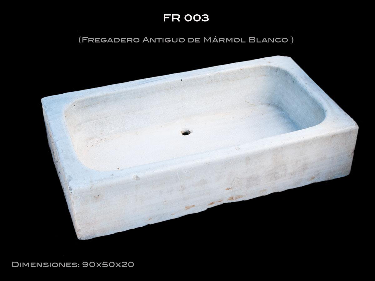 Fregadero Antiguo de Mármol FR 003