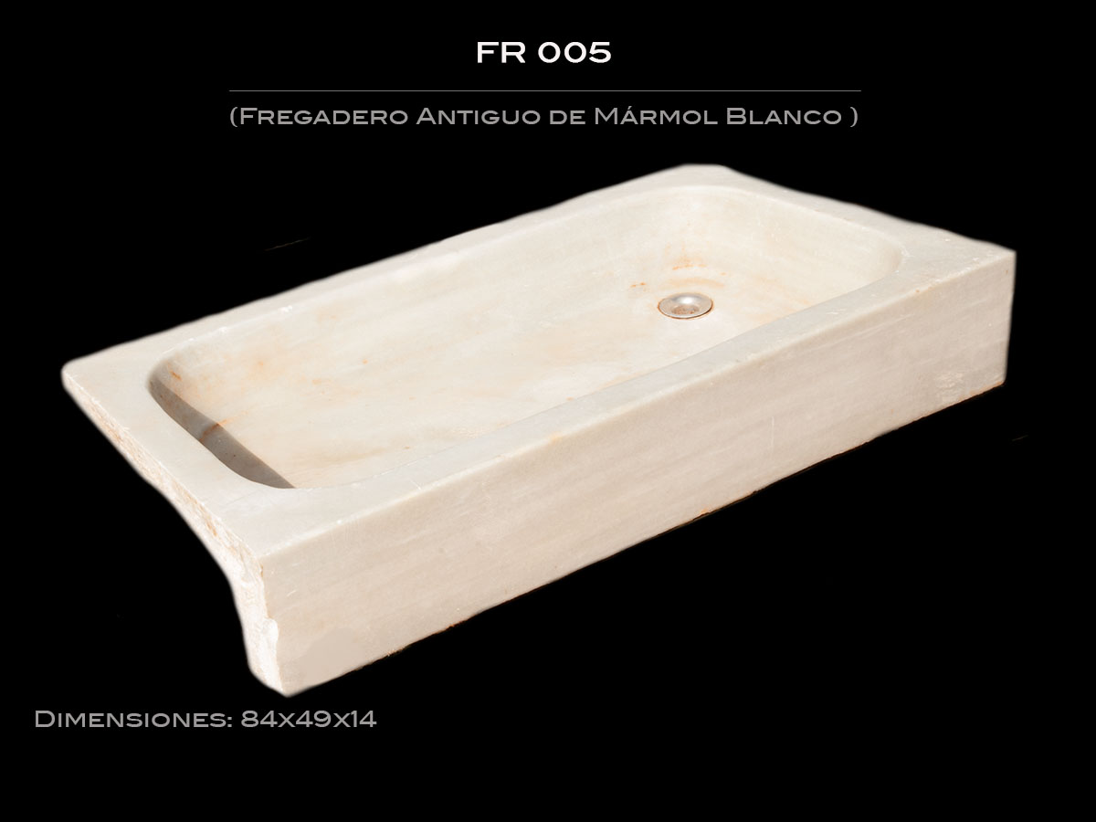 Fregadero Antiguo de Mármol FR 005