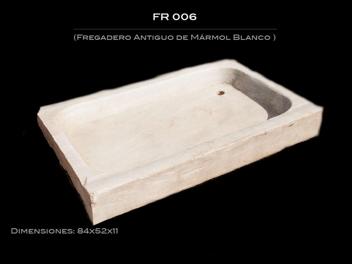Fregadero Antiguo de Mármol FR 006