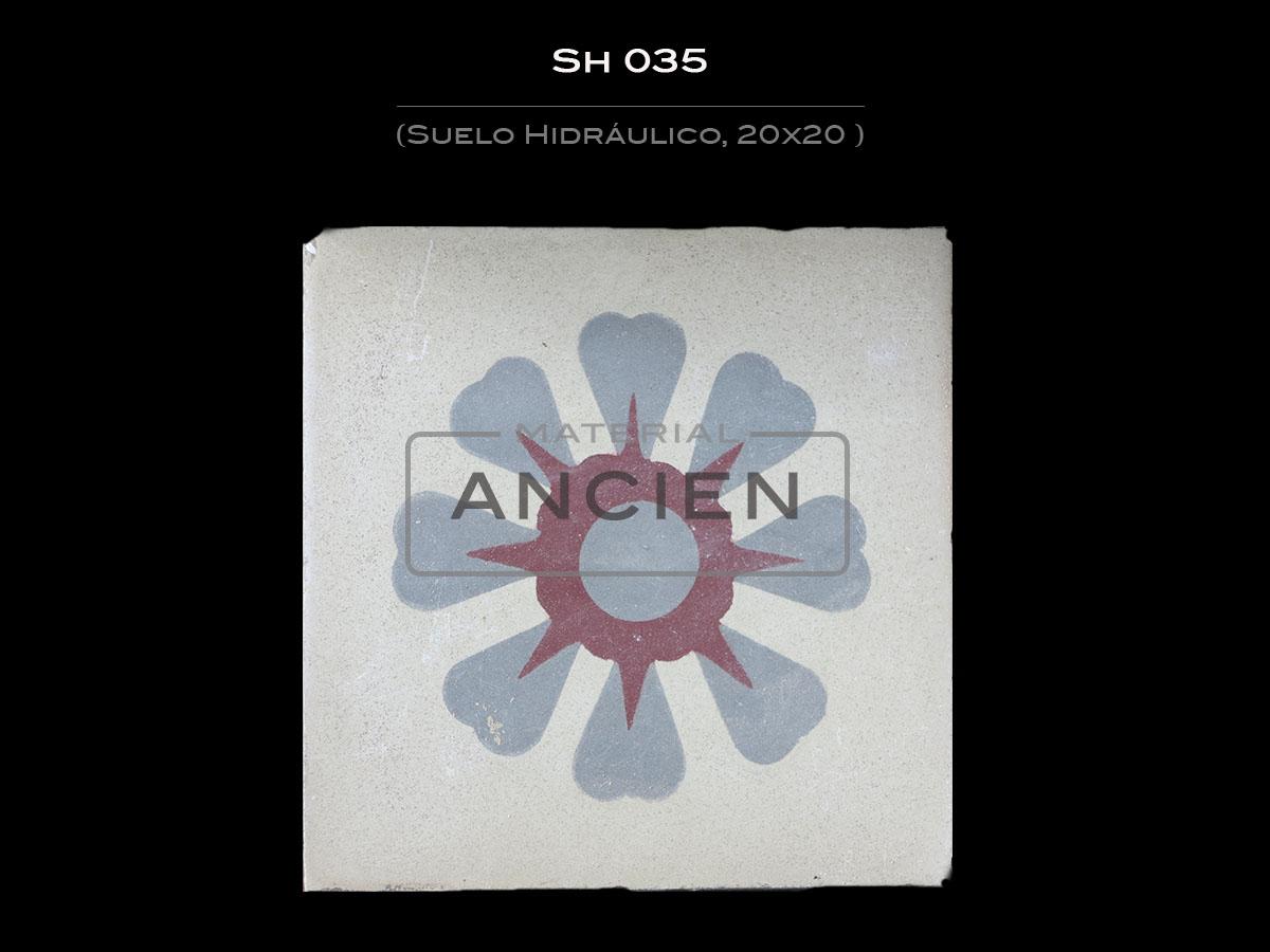Suelo Hidráulico Antiguo SH 035