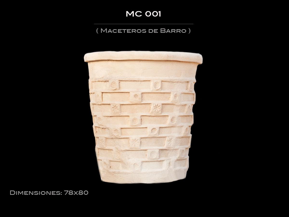 Maceteros de Barro  MC 001