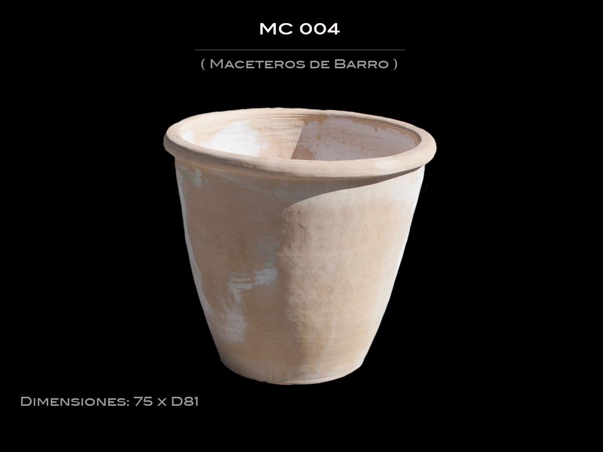 Maceteros de Barro MC 004