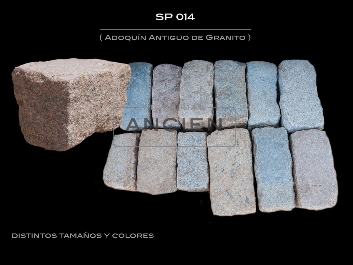 Adoquín Antiguo de Granito SP 014