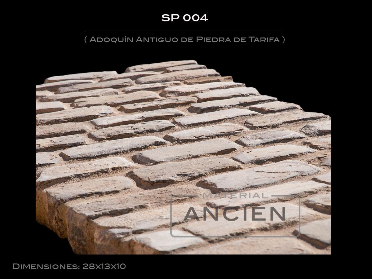 Adoquín Antiguo de Piedra de Tarifa SP 004