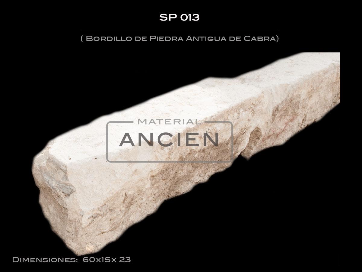Bordillo de Piedra Antigua de Cabra  SP 013