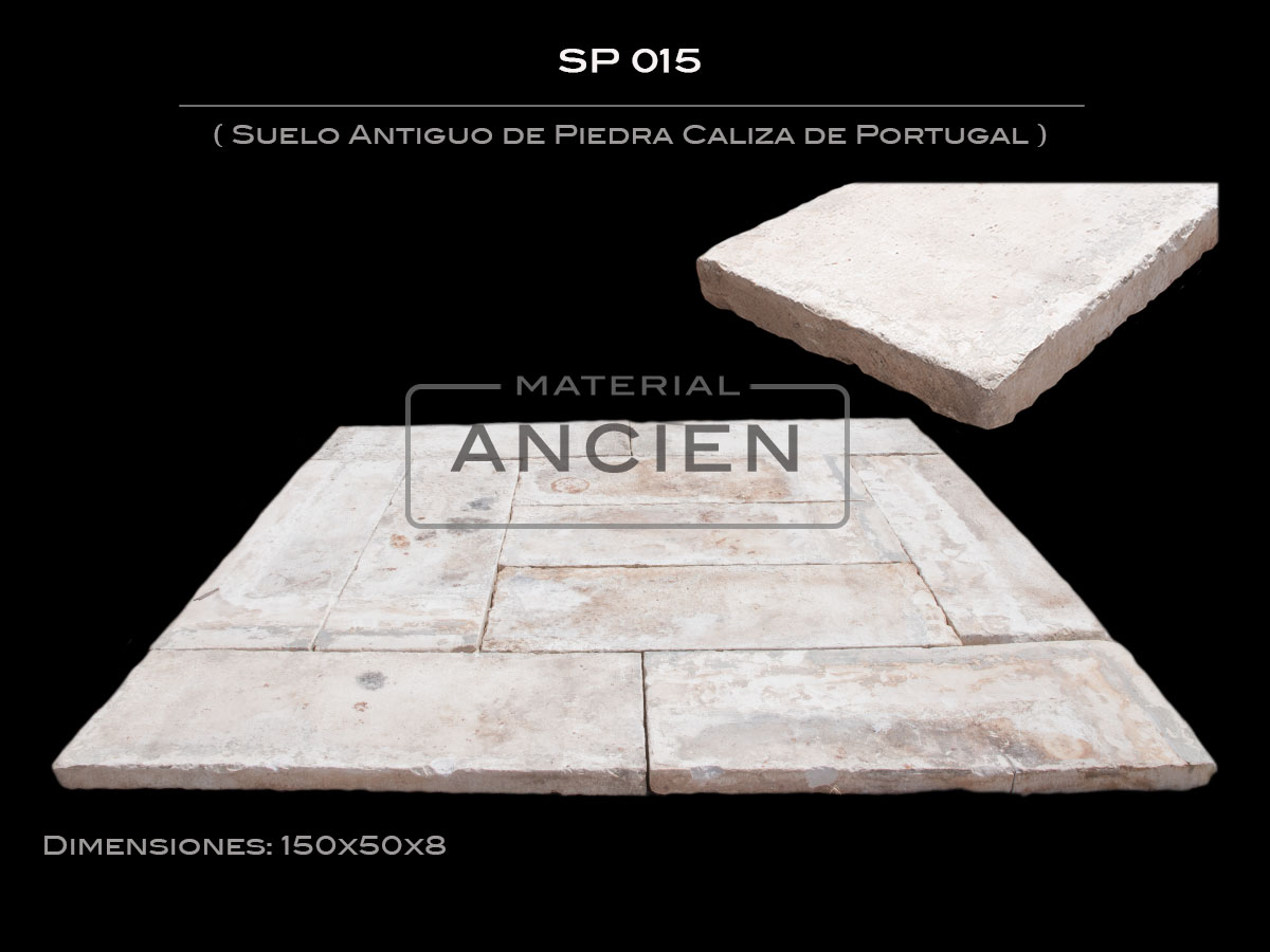 Suelo Antiguo de Piedra Caliza de Portugal SP 015