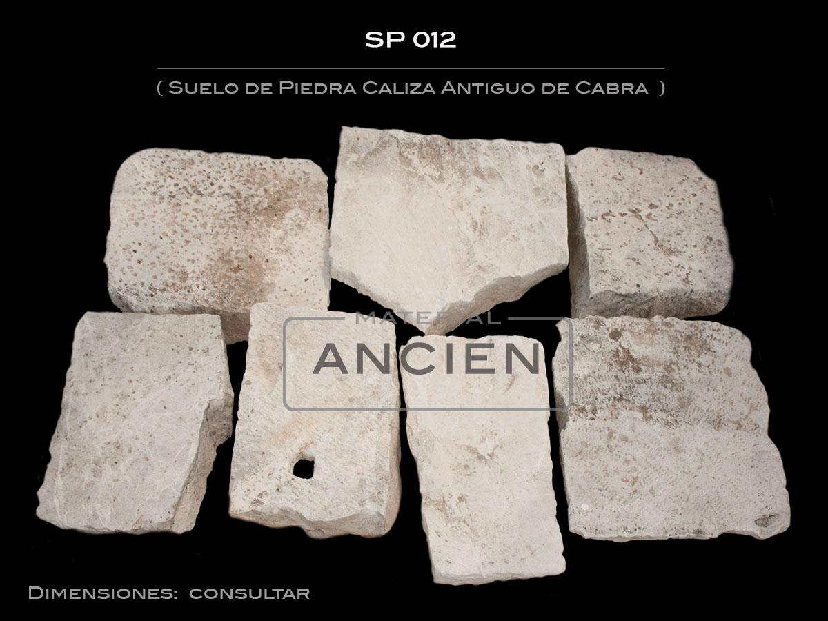 Suelo de Piedra Caliza Antiguo de Cabra   SP 012