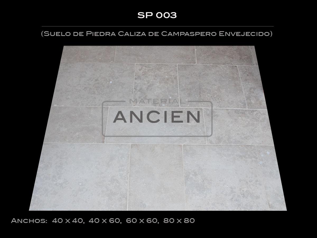 Suelo de Piedra Caliza de Campaspero Envejecido SP 003 2