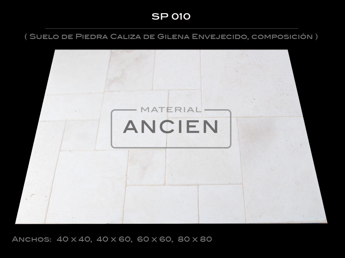 Suelo de Piedra Caliza de Gilena Envejecido SP010