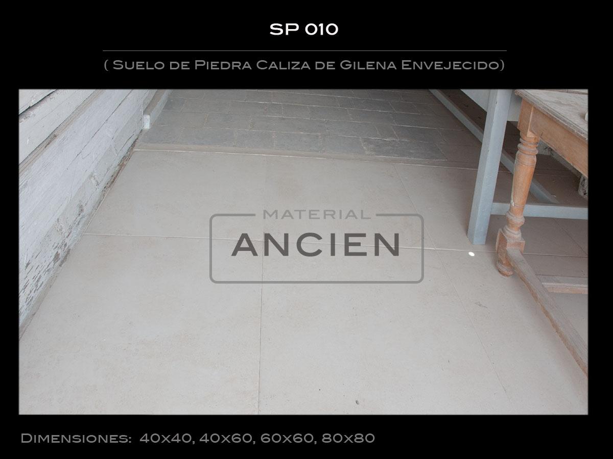 Suelo de Piedra Caliza de Gilena Envejecido   SP 010-2