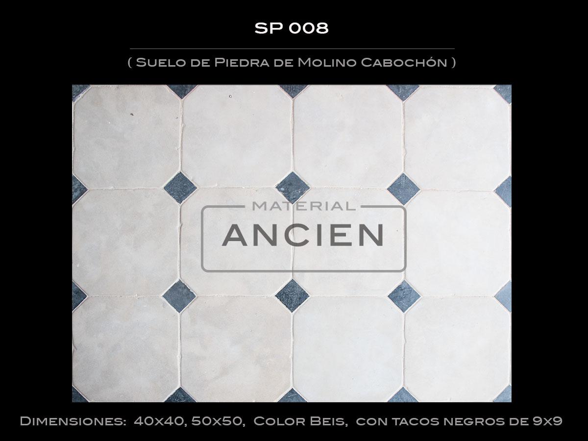 Suelo de Piedra de Molino Cabochón SP 008