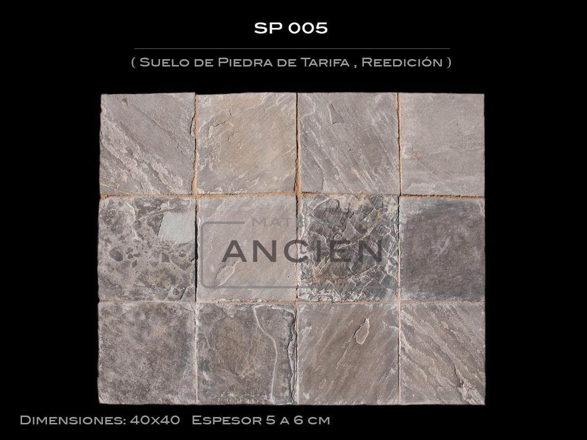suelo de piedra de tarifa reedicin sp