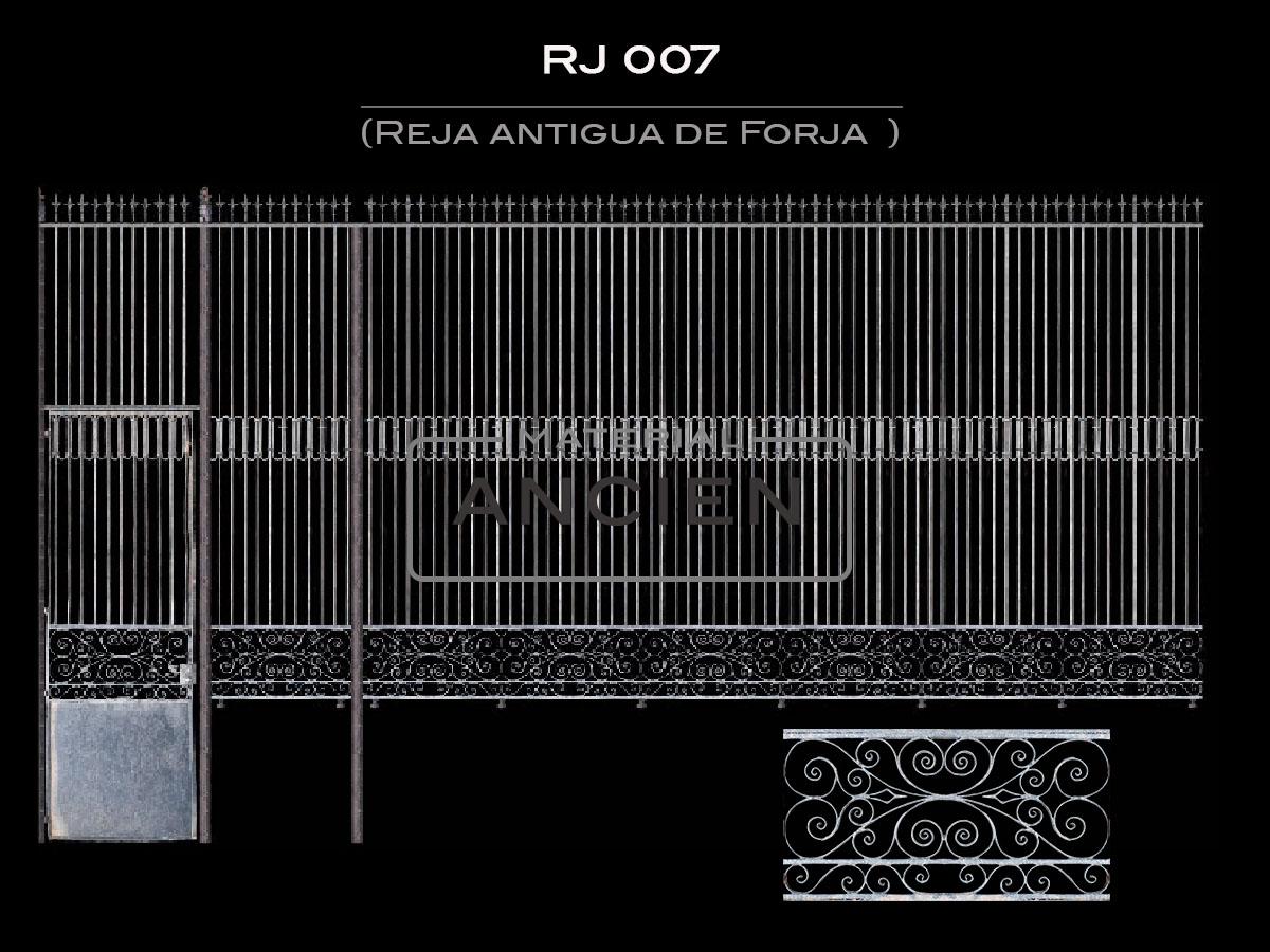 Reja antigua de Forja RJ 007
