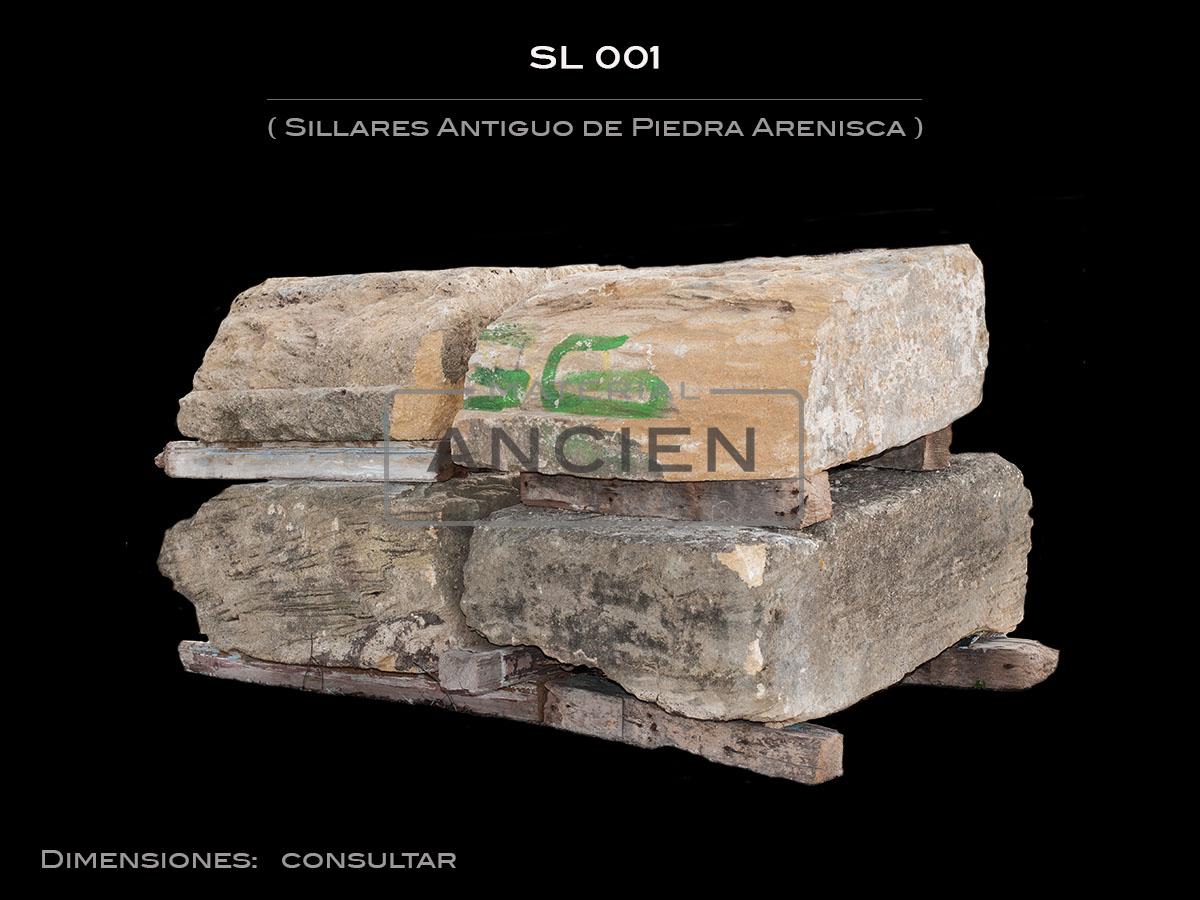 Sillares Antiguo de Piedra Arenisca  SL 001