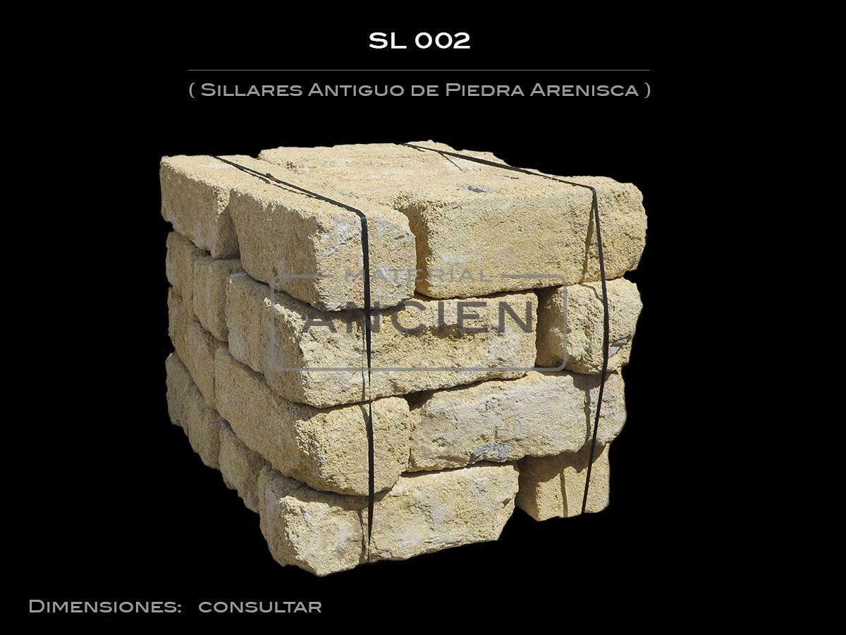 Sillares Antiguo de Piedra Arenisca  SL 002