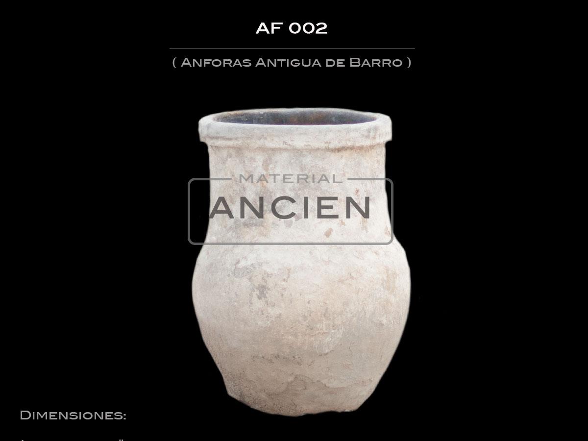 Anforas Antigua de Barro  AF 002