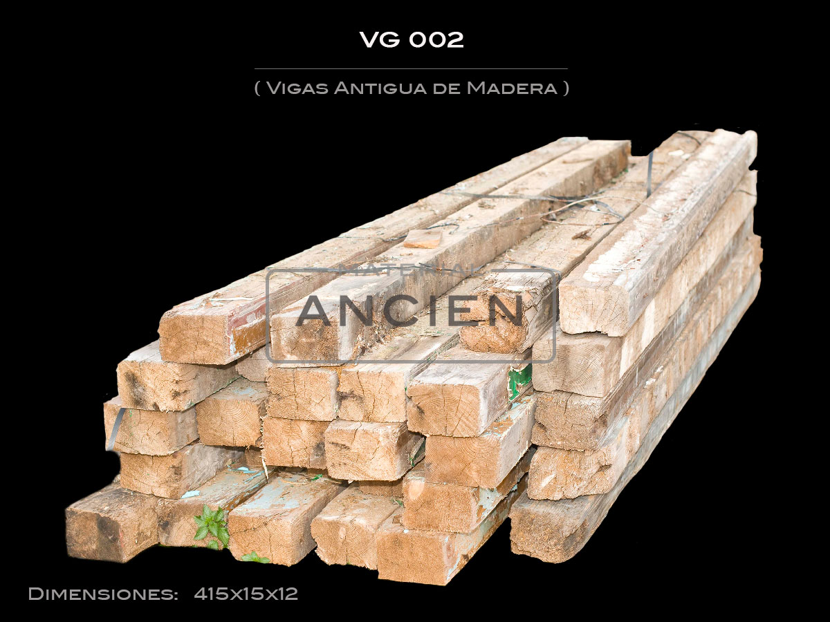 Vigas Antigua de Madera  VG 002